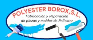 Polyester Borox. Fabricación de piezas de poliéster con fibra de vidrio en Toledo. Piezas de poliéster para energía eólica en Illescas. Planchas de poliéster para recubrimientos en Aranjuez. Fabricación de piezas para automoción en Fuensalida. Fabricación de cisternas y depósitos de agua en Torrijos, Toledo, Illescas, Aranjuez, Fuensalida, Seseña.